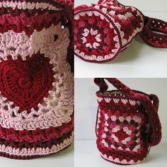 This bag is super cute! Granny's Valentine Bag by Ana Clerc ia a project you'll absolutely love considering is so much fun to learn a lot of new granny tehniques while making such a beautiful bag. This small bag is aprox. 10″ tall, 20″ around, and uses 4 different type of Granny-style constructions. Pretty easy …
