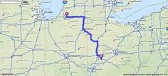 Driving Directions from Granger, Indiana to Xenia, Ohio   MapQuest