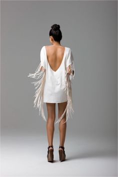 supa cute fringe dress