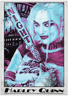 Suicide Squad Harley Quinn Margot Robbie by ExtremepandaDesign