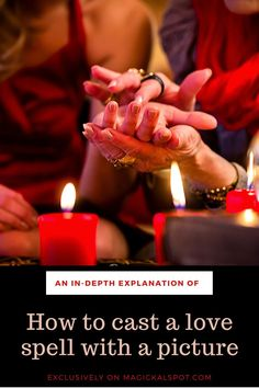 In this article, we'll show you How to Cast a Love Spell With a Picture. We'll also share with you a special attraction spell. Jar Spells, Moon Spells, Candle Spells, Hoodoo Spells, Wiccan Spells, Magic Spells, Witchcraft, Cast A Love Spell, Love Spell That Work