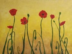 Red Poppy Flowers | Olivia Marcial