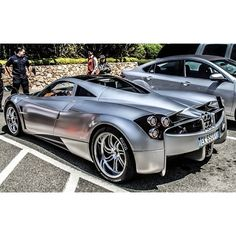 Gorgeous rear view shot of a Pagani Huayra | repinned by www.BlickeDeeler.de