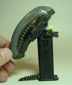 Alien Pez - want! - Stan Winston School of Character Arts