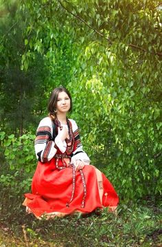 Russian costume.
