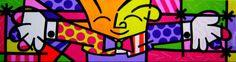 Ícone da pop art atual, Romero Brittoé um dos artistas brasileiros mais reconhecidos e premiados internacionalmente
