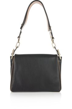 Chloé | Jade Medium leather shoulder bag | NET-A-PORTER.COM