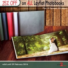 All Layflat Photobooks are now available in Material Hardcovers. Create your Layflat photobook now and get 25% OFF. Special only valid until 29 February 2016. http://photo2print.co.za/square-lay-flat-photobooks/ #wedding #layflat #photobooks #special