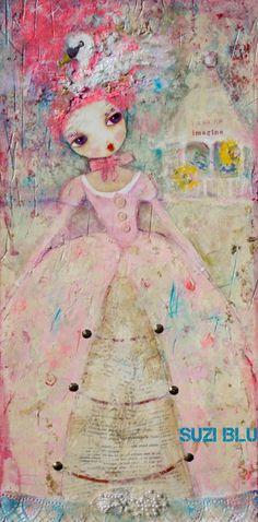 suzi blu art.  LOVE this!!!!!!