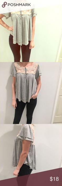 Free People Top size M, super cute flowy top Free People Tops