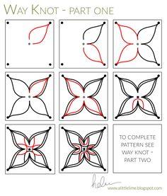 Way Knot Tangle PATTERN