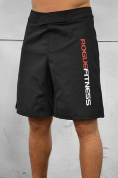 Rogue Flex Fighter Shorts with 2 way stretch and side slit. Polyester and Made in the USA! Order your pair from Rogue today! Crossfit Men, Crossfit Shorts, Crossfit Clothes, Workout Shorts, Workout Gear, Workout Style, Gym Gear, Gym Workouts, Rogue Fitness