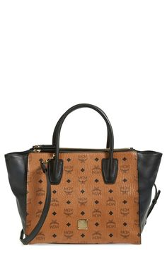 So much detail! Want this MCM tote!