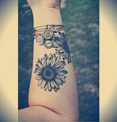 Sunflower Forearm Ta