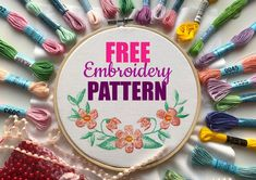 Excited to share the latest addition to my #etsy shop: Spring Flower Embroidery PDF Pattern FREE Hand Embroidery Pattern Diy Embroidery Stitching Pattern Embroidery Hoop Art Beginner Pattern PDF #supplies #springflowermotif #embroiderypattern #diyembroidery #stitchingpattern #embroideryhoopart