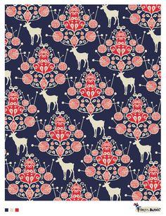 Deer Pattern: by Helen Dardik