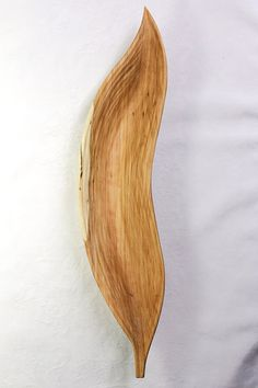 Hand Carved Willow Tree Leaf Serving Dish by ChiseledForest, $65.00