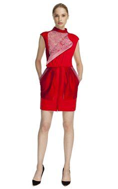 Brood Lace Panel dress