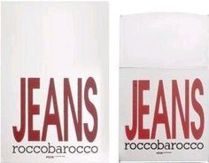 Jeans by Roccbarocco, 2.5 oz Eau De Toilette Spray for men by Roccobarocco. $31.76. Blends with citrus, amber & lavender. Redefines a warm & romantic scent for man. Jeans by Roccbarocco (Silver). Save 47%!