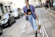 Gizele Oliveira | Sophie Mhabille - Milan Fashion Week Streetstyle - ss15 - Gizele Oliveira