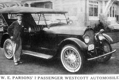 Westcott Automobile.   ===>  https://de.pinterest.com/davidjgill/frank-lloyd-wright-westcott-house/