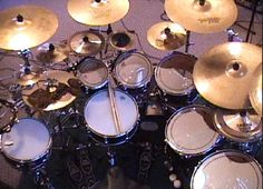 My old Dw kit with sabian cymbals