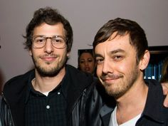 Andy Samberg, Jorma Taccone at the Sonos Studio for Solange Knowles' Listening Party