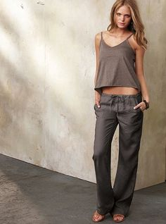Linen pants, also wanted to show you a new amazing weight loss product sponsored by Pinterest! It worked for me and I didnt even change my diet! I lost like 16 pounds. Here is where I got it from cutsix.com  .