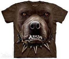 Zombie Pitbull T-Shirt - Alien T-Shirts - tees - green t-shirts - funnny tshirts - fantasy t-shirts - scary t-shirts - zombie t-shirts - death t-shirts - gift ideas for christmas - ideas for christmas - unicorn t-shirts - robot t-shirts - epic t-shirts 3d T Shirts, Cool T Shirts, Zebras, Harley Davidson, Zombie Face, Bulls Shirt, Bag Women, Zombie T Shirt, Big Face