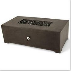 BuildDirect®: Kontiki Cast Concrete Fire Tables - Silhouette Rectangle $2387