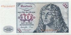 10 Deutsche Mark 1977 (Gorch Fock) Fehldruck