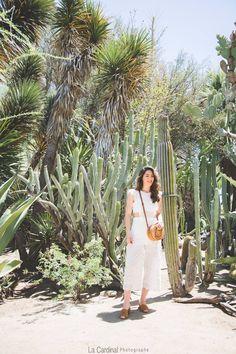 Portrait femme fashion Moorten Botanical Garden #cactus #woman #moorten #moortenbotanicalgarden #botanicalgarden #palmsprings Palm Springs, Botanical Gardens, Cactus, White Dress, Dresses, Photography, Vestidos, Dress, Day Dresses