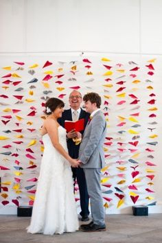 dc wedding modern DIY Kirsten Marie Photograpy 275x413 Bright and Modern DIY Wedding Ceremony in DC: Ashley + Frankie