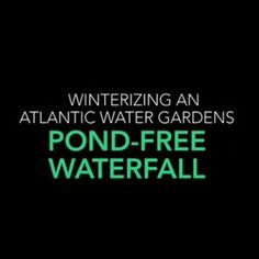 Subscribe to Atlantic Water Gardens' YouTube channel, AWGtv, for How-to, winterizing, pump cleaning, and product assembly videos. Just search