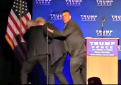 Donald Trump Rushed Off Stage During Protester Altercation in Reno - http://conservativeread.com/donald-trump-rushed-off-stage-during-protester-altercation-in-reno/