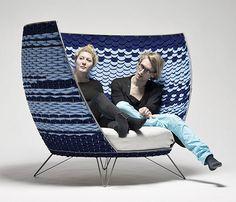 Sillón Big Basket de la diseñadora Ola Gillgren | Decoratrix | Decoración, diseño e interiorismo