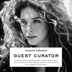 Fabulous Actress Rachelle Lefebvre guest curates an exclusive collection of art photography for The Print Atelier. www.theprintatelier.com  See the work and get the same pieces as Rachelle!