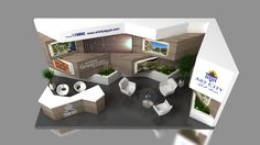 Art City Booth - Amar Ya Masr Exhibition 2017 on Behance