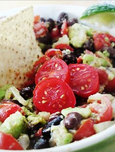 Beanacado Super Yum >>>Healthy, Yummy and super easy to make ~~ The perfect holiday dip!