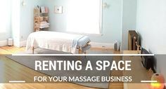 Renting a Space for Your Massage Business