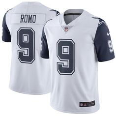 dfcb2a362 NIKE - TONY ROMO  9 - AUTHENTIC ON FIELD JERSEY - SZ. L - · Dallas Cowboys  ...