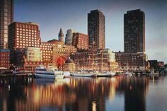 Boston Harbor Hotel - Boston, MA Where my sister got married! (Boston's landmark, waterfront hotel located at Rowes Wharf overlooking historic Boston Harbor) The Places Youll Go, Great Places, Places To Go, Boston Vacation, Boston Travel, Harbor Hotel, Boston Harbor, Boston Things To Do, Beste Hotels