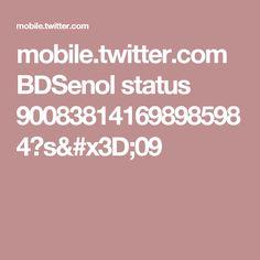 mobile.twitter.com BDSenol status 900838141698985984?s=09