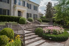 Gracious entrance....Kaiser Trabue Landscape Architecture