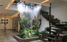 Indoor Waterfall, Quirky Decor, Terraria, Modular Homes, Next At Home, Aquariums, Future House, Living Spaces, New Homes
