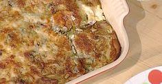 Ricette La prova del cuoco: le lasagne goccia d'oro