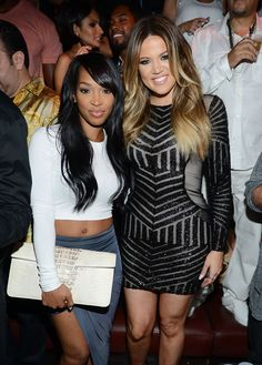 Pin for Later: 24 Celebrity BFFs You Can Channel For Halloween Khloé Kardashian and Malika Haqq