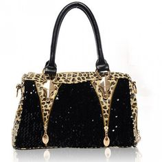 Sexy Sequined Leopard Handbag & Shoulder Bag , Womens Handbags - Bags For Big Sale! Sexy Sequined Leopard Handbag & Shoulder BagJust $32.90 . Leopard represent the sex and Graceful. in Atwish.com