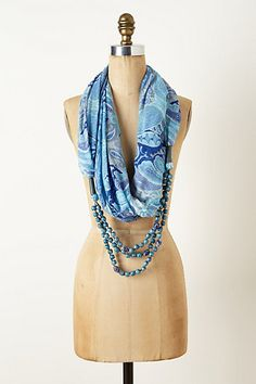I kinda dig it.  Anthro scarf/necklace.