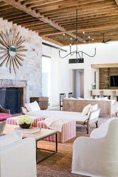 Projects | Chris Barrett Design · FAMILY ROOMSLiving RoomsAmazing HousesLiving  Room InspirationSpanish ...